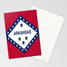 flag of arkansas-america,usa,The Natural State,Arkansan, Arkansawyer,Arkanite,Little Rock,Fort Smith Stationery Cards