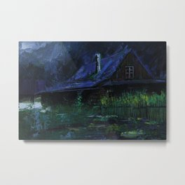 After hours Metal Print