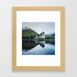 Kilchurn Castle Scotland Framed Art Print