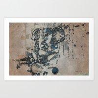 ganesha Art Prints featuring Ganesha by Barbara Storey Digital Art