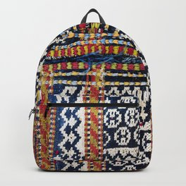 Qashqa'i Khorjin  Antique Fars Persian Tribal Bag Backpack
