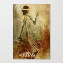 In Vogue Canvas Print