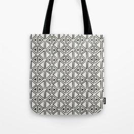 Block Print Diamond Tote Bag