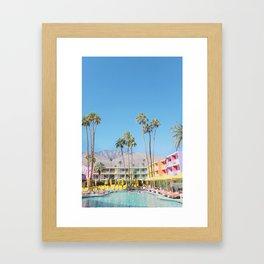 PS, Saguaro Hotel 1 Framed Art Print