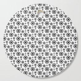 Black Snow Cutting Board