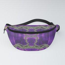 Epoxy River Tables - Bangladesh #1 Quad Purple Fanny Pack