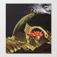 the bent and broken moon... Canvas Print