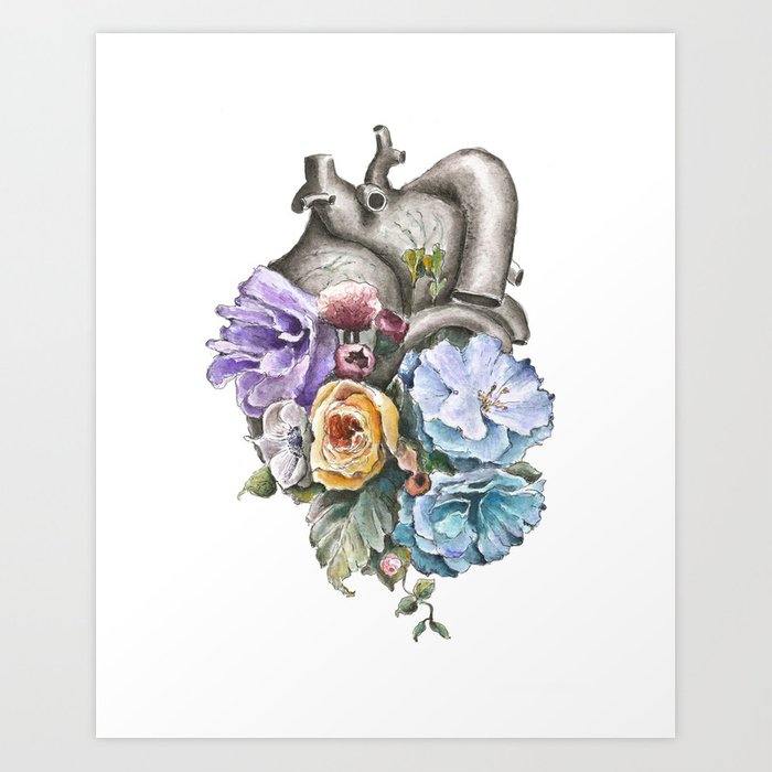 Human Anatomy Art Prints Society6
