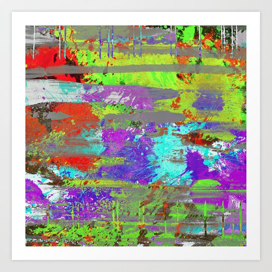 Colour Injection II Art Print