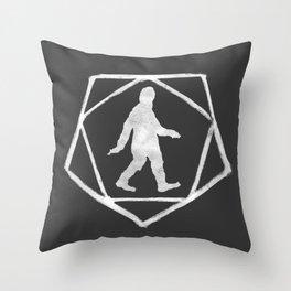 Cult of Sasquatch Throw Pillow