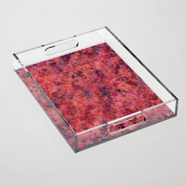 Coral Clouds Acrylic Tray