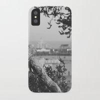 santa monica iPhone & iPod Cases featuring santa monica by gabriellevictoria
