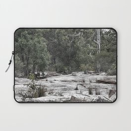 Rugged rocky bushland view Laptop Sleeve