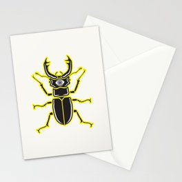 Nightmare Beetle Stationery Cards