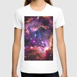 Small Magellanic Cloud's Starry Wingtip T-shirt