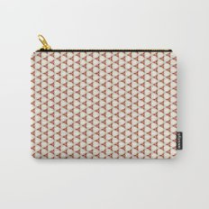 Three red pattern Carry-All Pouch