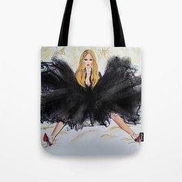 fashion illustration Vamp Tote Bag