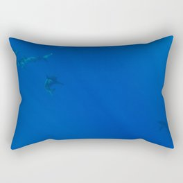 Hawaiian Shark VII Rectangular Pillow