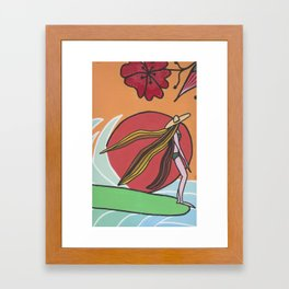 afternoon relax Framed Art Print