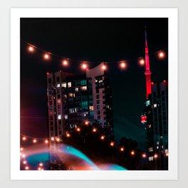 Leading Lights Art Print
