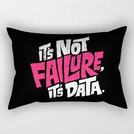It's Not Failure, It's Data Rectangular Pillow
