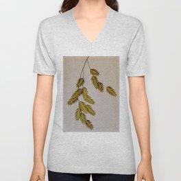 oat grass portrait Unisex V-Neck