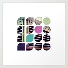 Cold Comfort Collage — Bunker Art Print