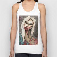 hayley williams Tank Tops featuring The Countess // For Hayley by Bloodelf
