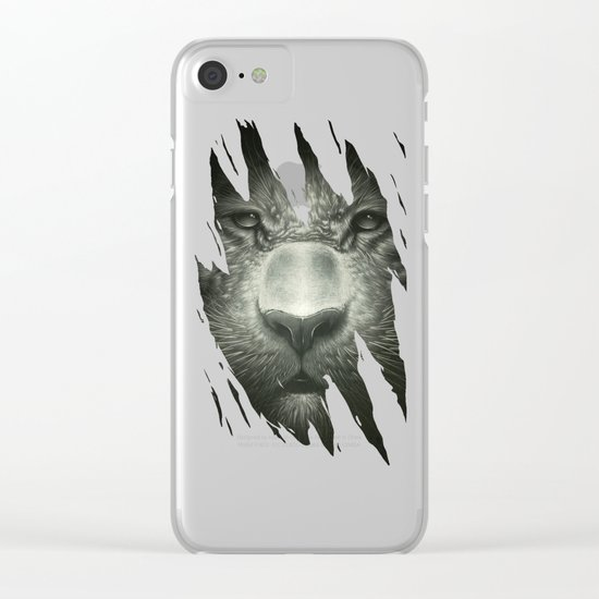 Tiger Clear iPhone Case