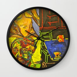 It was Only One Cup Wall Clock