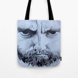Bearded man Tote Bag
