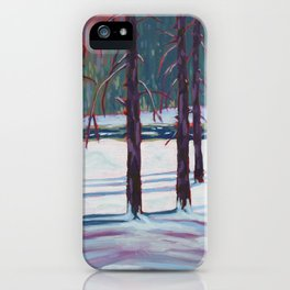 The Spruce Bog, Algonquin Park iPhone Case