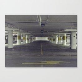 Ground Under Canvas Print