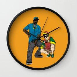 B-Man And Robbin' Wall Clock