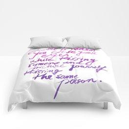 Love quotes Comforters