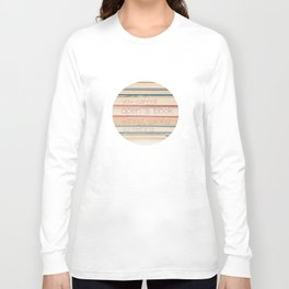 you cannot open a book without learning something Long Sleeve T-shirt