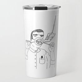 I Love True Crime - Masculine Version Travel Mug