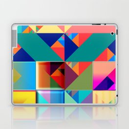 Frickin Fractious Laptop & iPad Skin
