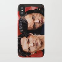 larry stylinson iPhone & iPod Cases featuring Polygonal Larry by Peek At My Dreams