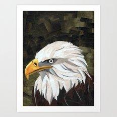 Eagle! Art Print