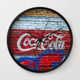 Drink Coke Wall Clock