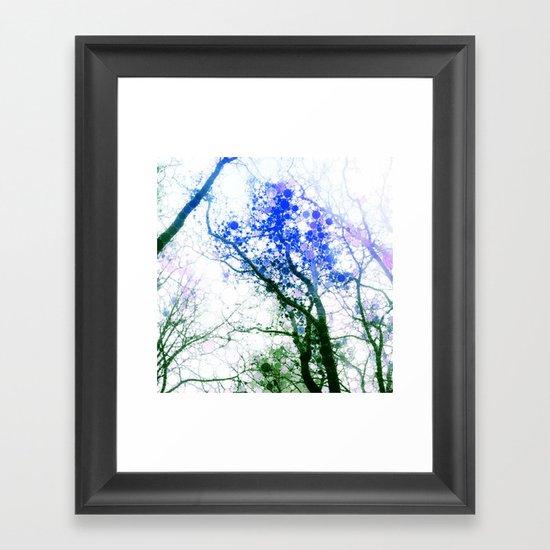 Tree Abstract 1 Framed Art Print