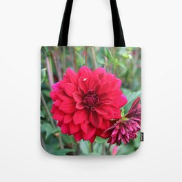 Blooming Red Tote Bag