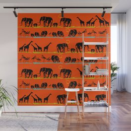 African animals Wall Mural