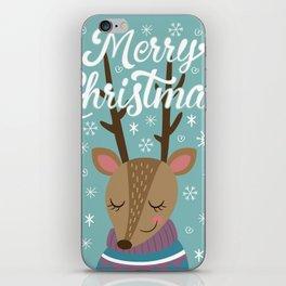Merry xmass iPhone Skin