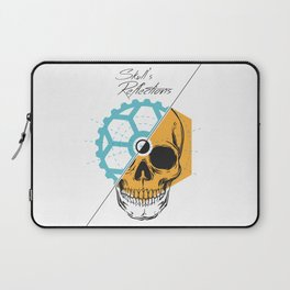 Skull'sReflections Laptop Sleeve