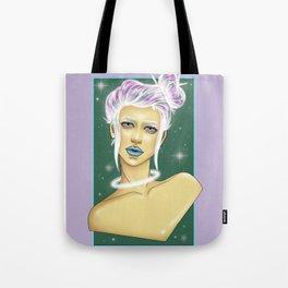 Space Bun Tote Bag