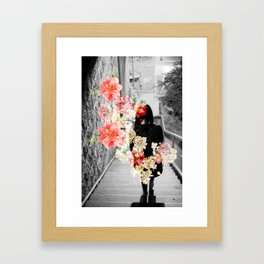 Poppy and Memory II Framed Art Print