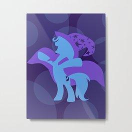 Trixie Metal Print