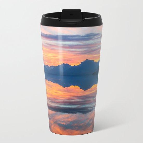 Until Daybreak Comes Metal Travel Mug